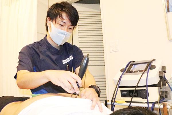 みやざわ接骨院の施術方法例